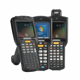 Zebra MC3200 Series Rugged Mobile Computer - Gun Configuration